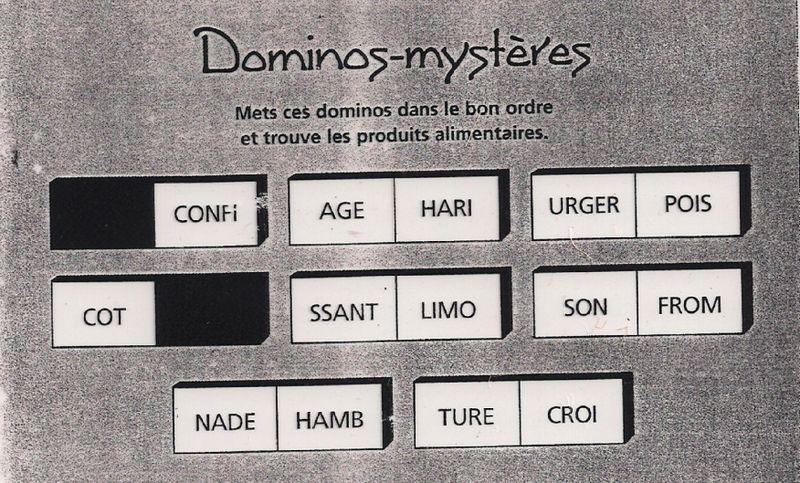 Dominoes food drink