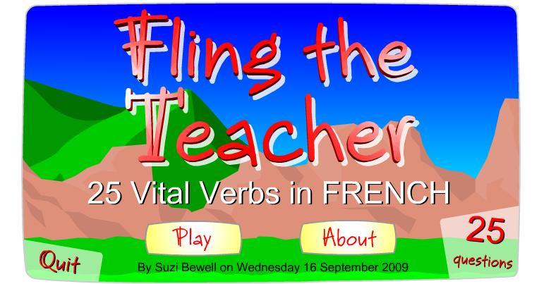 Fling 25 v verbs