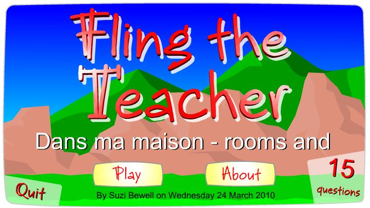 Fling rooms and activities