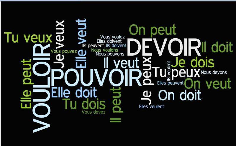Wordle pouvoir vouloir devoir