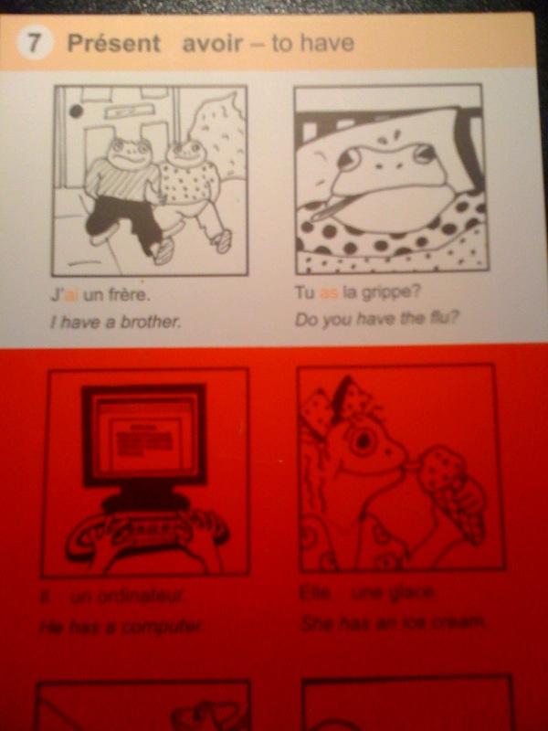 Magic verbs cards