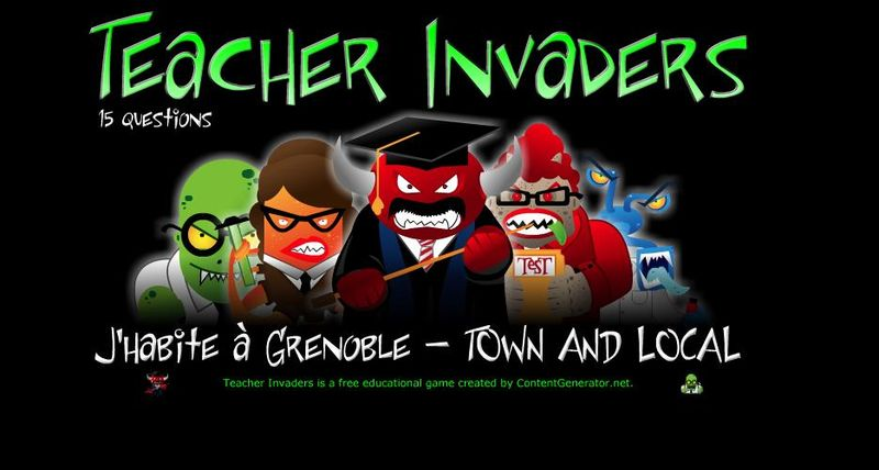 Teacher invaders town